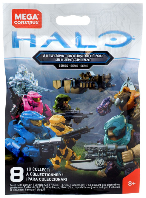 Halo A New Dawn Minifigure Mystery Pack [1 RANDOM Figure!]