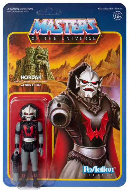 ReAction Masters of the Universe Hordak Action Figure [Gray]