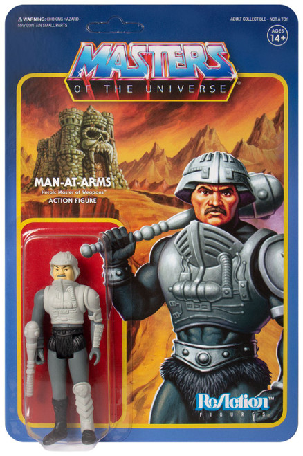 ReAction Masters of the Universe Man-At-Arms Action Figure [Move Accurate]