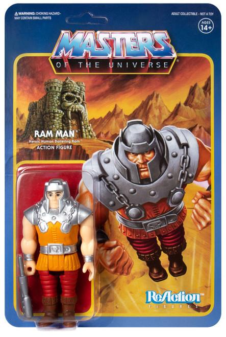 ReAction Masters of the Universe Ram Man Action Figure [Mini Comic]