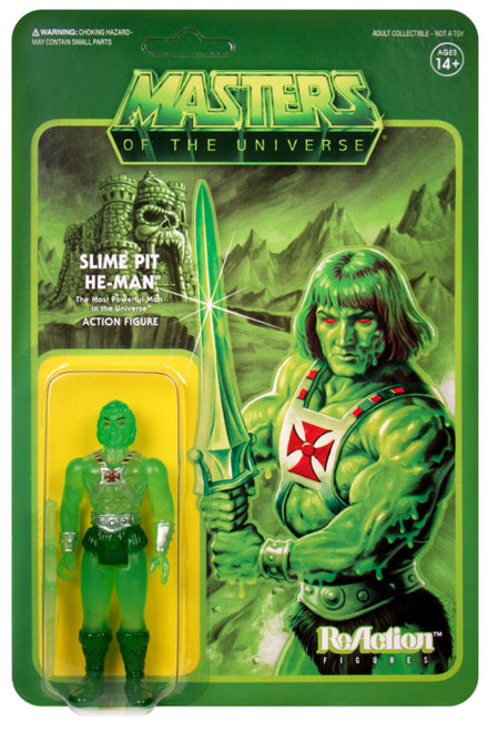 ReAction Masters of the Universe Slime Pit He-Man Action Figure