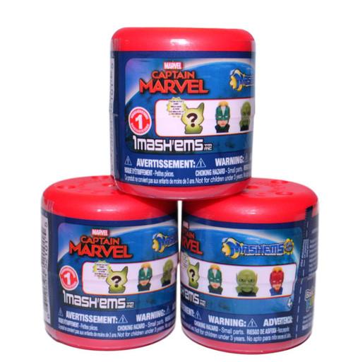 Mash'Ems Series 1 Captain Marvel Mystery 3-Pack