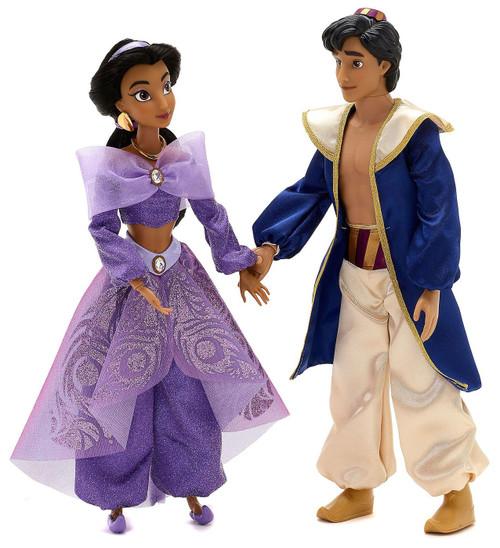 Disney Jasmine & Aladdin Exclusive 12-Inch Singing Duet Doll 2-Pack Set