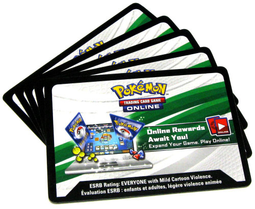Pokemon X & Y Shining Legends Lot of 20 Code Cards