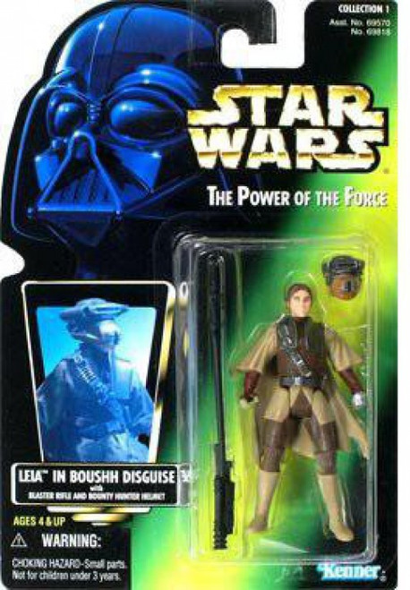 Star Wars Return of the Jedi Power of the Force POTF2 Collection 1 Leia in Boushh Disguise Action Figure [Photo Card]