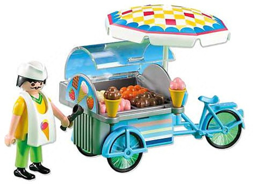 Playmobil City Life Ice Cream Man Set #7492