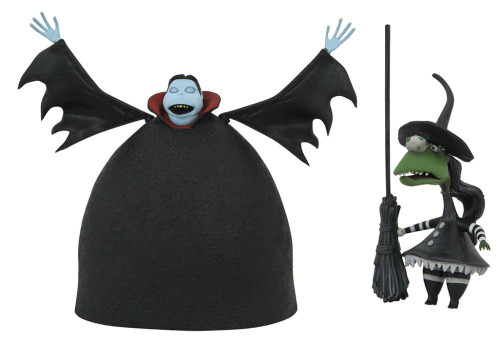 Nightmare Before Christmas Select Series 8 Short Vampire with Short Witch Action Figure
