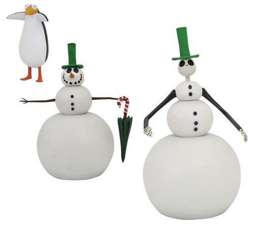Nightmare Before Christmas Select Series 7 Snowman Jack Action Figure