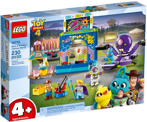 LEGO Juniors Toy Story 4 Buzz & Woody's Carnival Mania! Set #10770 [Damaged Package]