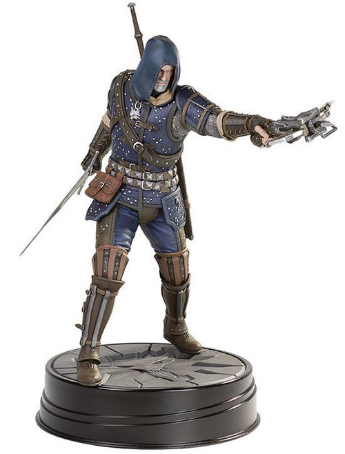 The Witcher 3: Wild Hunt Geralt Grandmaster Feline 10.75-Inch PVC Statue Figure