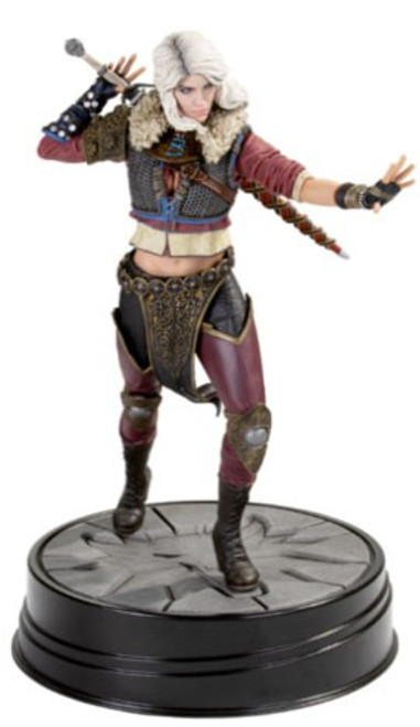 The Witcher 3: Wild Hunt Ciri 8-Inch PVC Statue Figure [Series 2]