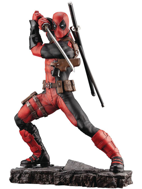 Marvel Deadpool 12-Inch Fine Art Statue