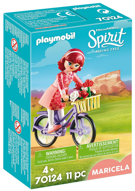 Playmobil Spirit Riding Free Maricela with Bicycle Set #70124