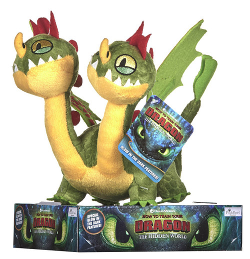How to Train Your Dragon The Hidden World Belch & Barf 12-Inch Plush