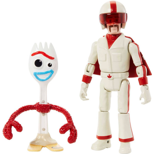 Toy Story 4 Posable Duke Caboom & Forky Action Figure