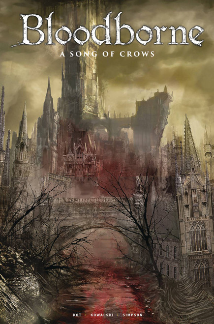 Titan Comics Bloodborne #12 A Song of Crows Comic Book [Game Art Cover C]