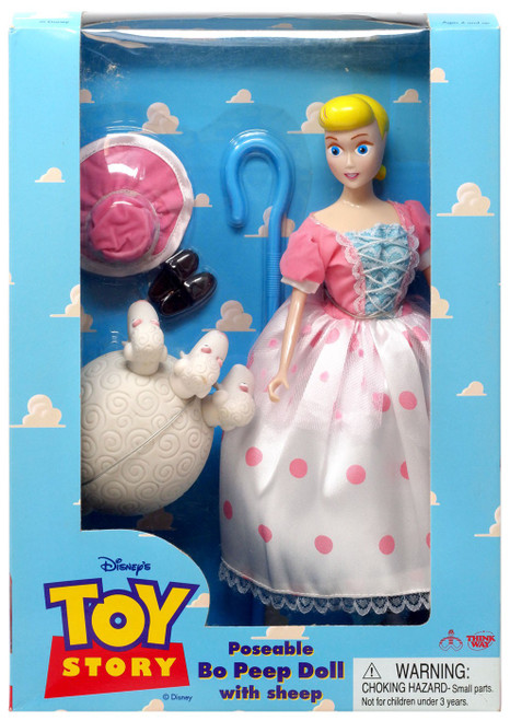 Disney / Pixar Toy Story Poseable Bo Peep with Sheep 12-Inch Doll