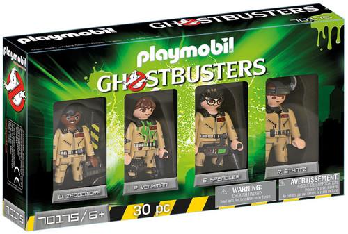 Playmobil Ghostbusters Winston, Peter, Egon & Ray Figure 4-Pack Set