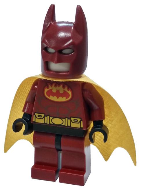 DC Universe Super Heroes The LEGO Batman Movie Firestarter Batsuit Minifigure [Loose]
