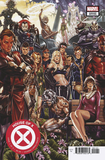 Marvel Comics House of X #1 Comic Book [Mark Brooks Connecting Cover]