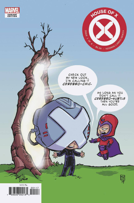 Marvel Comics House of X #1 Comic Book [Skottie Young Variant Cover]