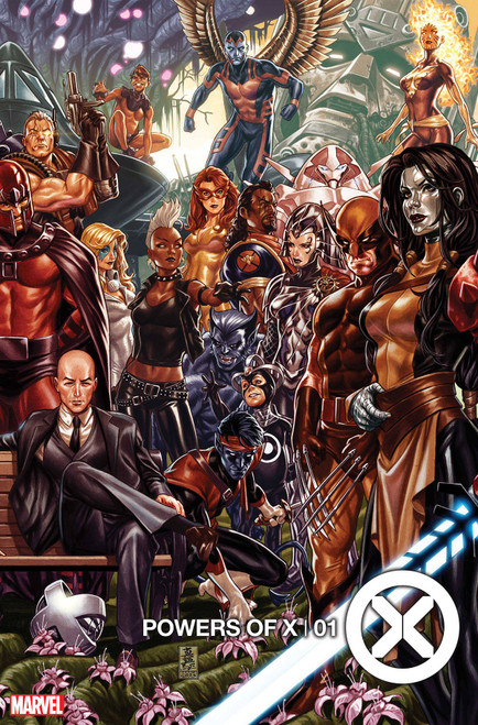 Marvel Comics Powers of X #1 Comic Book [Mark Brooks Connecting Cover]