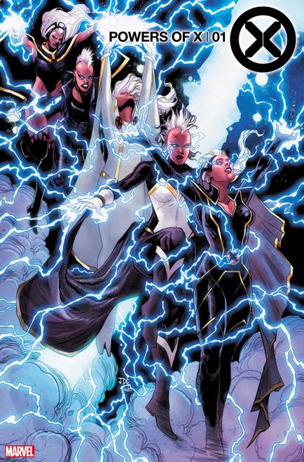 Marvel Comics Powers of X #1 Comic Book [Cassara Character Decades Cover]