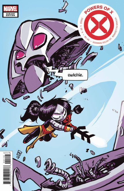 Marvel Comics Powers of X #1 Comic Book [Skottie Young Variant Cover]