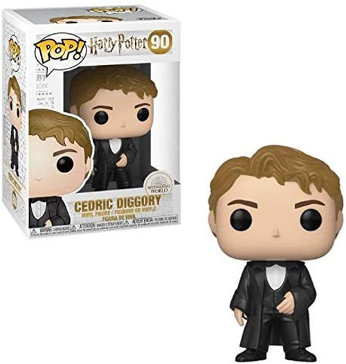Funko Harry Potter POP! Movies Cedric Diggory Vinyl Figure [Yule Ball Outfit]