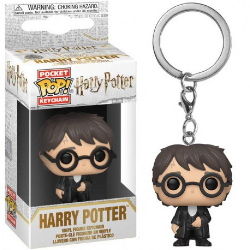 Funko POP! Movies Harry Potter Keychain [Yule Outfit]