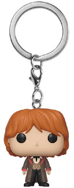 Funko Harry Potter POP! Movies Ron Weasley Keychain [Yule Outfit]