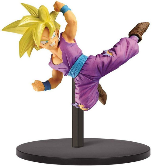 Dragon Ball Z: Buyu Retsuden Chosenshiretsuden Super Saiyan Teen Gohan 4.5-Inch Collectible PVC Figure Vol. 3