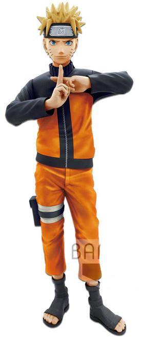 Naruto Shippuden Grandista Nero Naruto Uzumaki 9-Inch Collectible PVC Figure