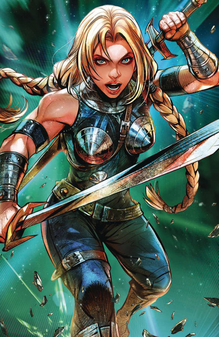 Marvel Comics War of The Realms #4 Comic Book [Battle Lines Variant Cover]