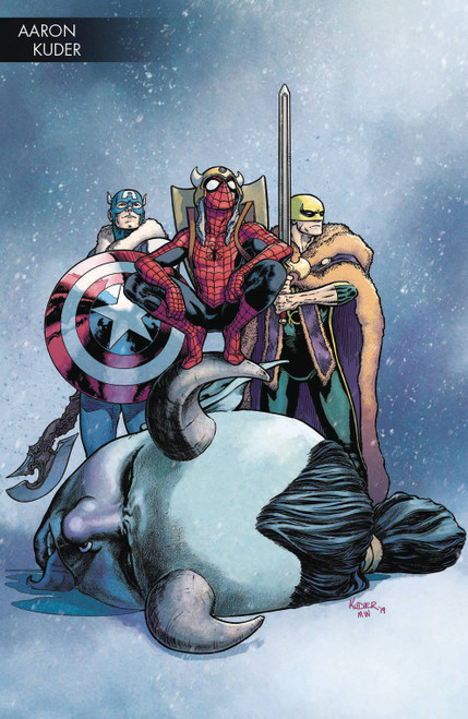 Marvel Comics War of The Realms #4 Comic Book [Aaron Kuder Variant Cover]