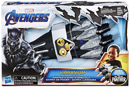 Marvel Avengers Endgame Black Panther Vibranium Power FX Claw Roleplay Toy