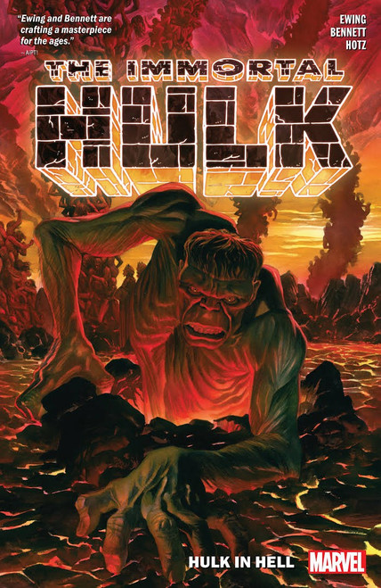 Marvel Comics The Immortal Hulk Hulk in Hell Trade Paperback Comic Book Volume 3