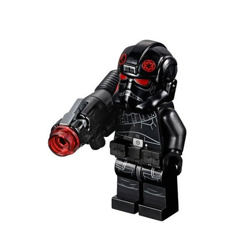 LEGO Star Wars Battlefront Inferno Squad Agent [with Utility Belt, Frown, Stud Rocket Launcher Loose]