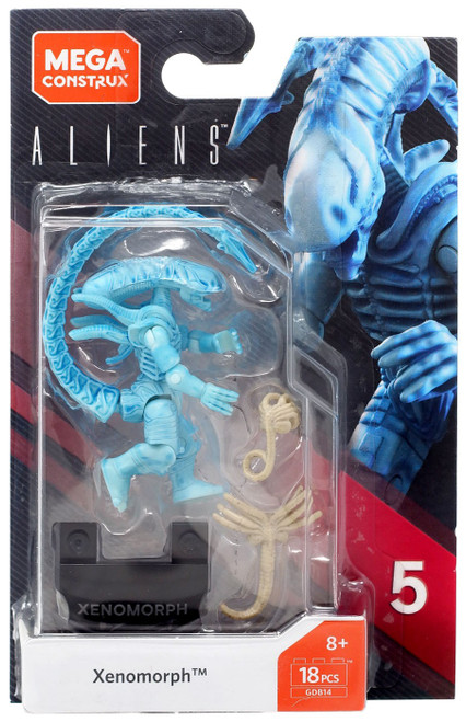 Aliens Heroes Series 5 Xenomorph Mini Figure [Blue]