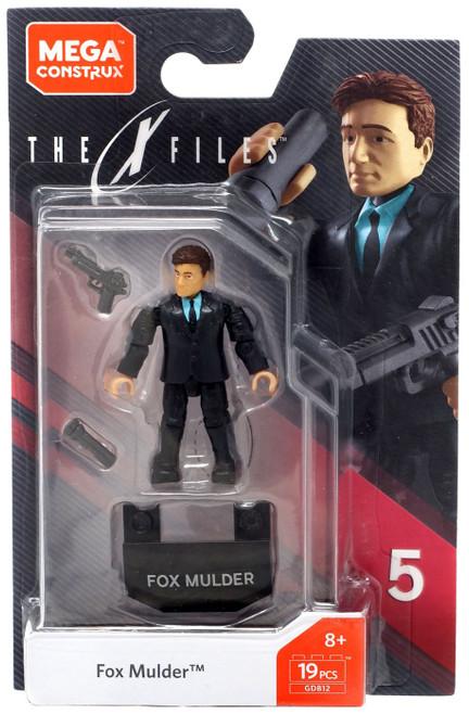The X-Files Heroes Series 5 Fox Mulder Mini Figure GDB12
