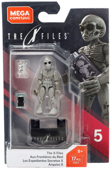 The X-Files Heroes Series 5 Alien Mini Figure GDB13