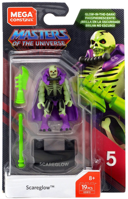 Mega Construx Masters of the Universe Heroes Series 5 Scareglow Mini Figure GDB15