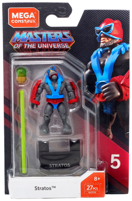 Mega Construx Masters of the Universe Heroes Series 5 Stratos Mini Figure