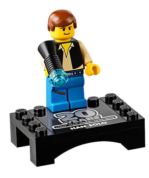 LEGO Star Wars Episode 4/5/6 Han Solo Minifigure [20th Anniversary Torso Loose]