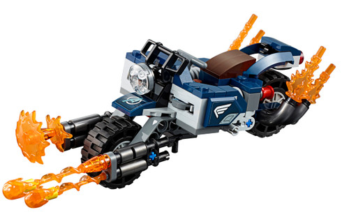 LEGO Marvel Super Heroes Avengers Endgame Captain America's Bike [Without Minifigures Loose]
