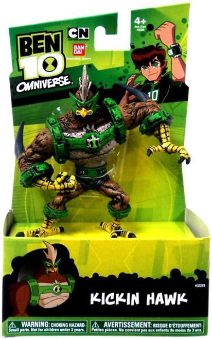 Ben 10 Omniverse HyperAliens Kickin' Hawk Action Figure [Damaged Package]