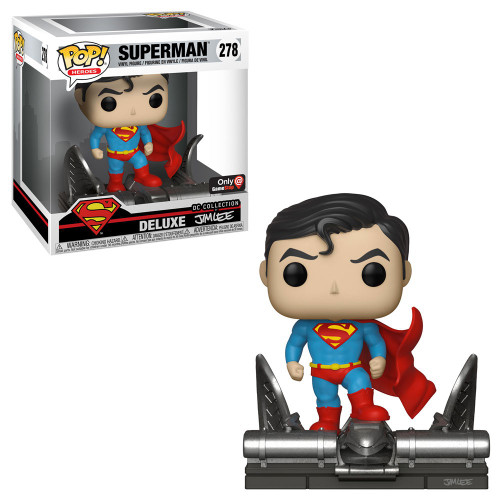 Funko DC Collection by Jim Lee POP! Heroes Superman Exclusive Deluxe Vinyl Figure #278