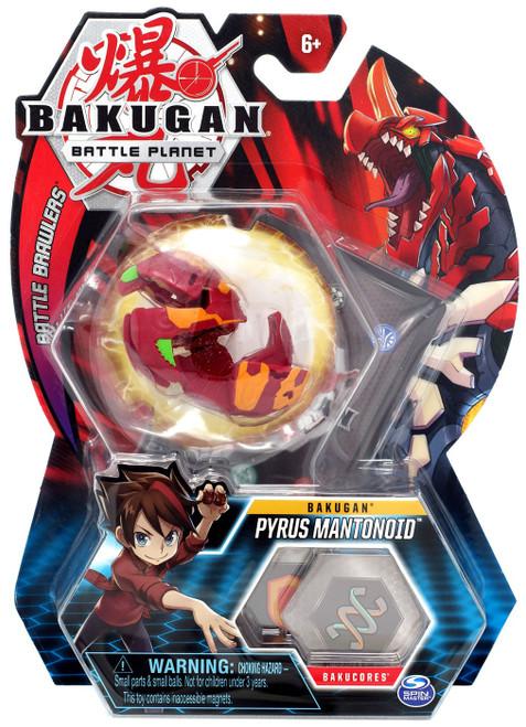 Bakugan Battle Planet Battle Brawlers Bakugan Pyrus Mantonoid