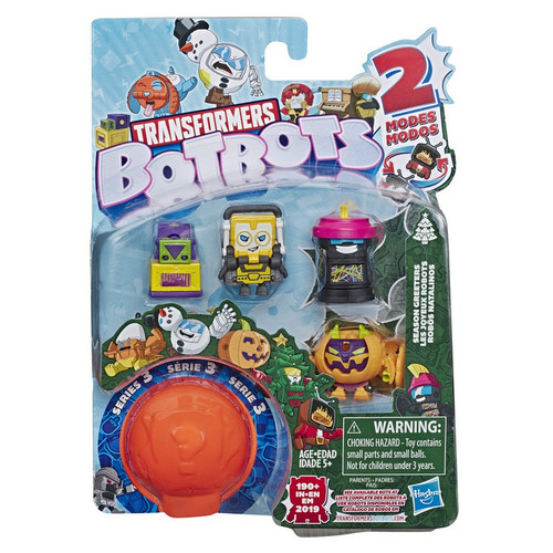 Transformers BotBots Series 3 Season Greeters Mini Figure 5-Pack [RANDOM Figures!] (Pre-Order ships November)