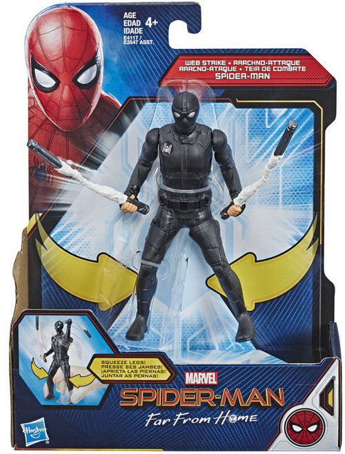 Marvel Far From Home Web Strike Spider-Man Action Figure